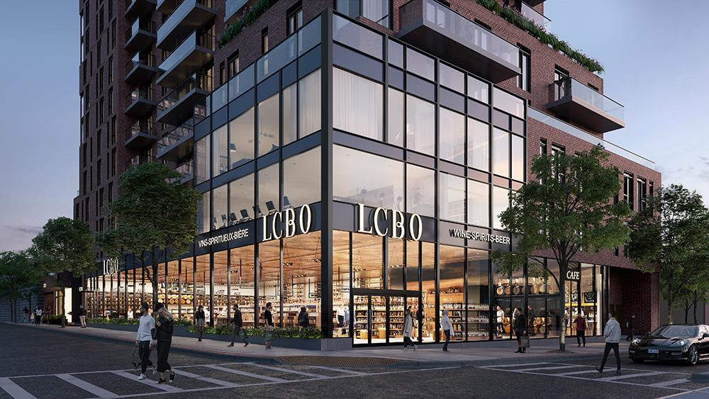 New LCBO with modern glass façade elevates St. Clair West with high-street feel  Image