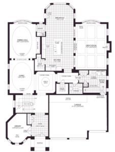 Princess Floorplan 1