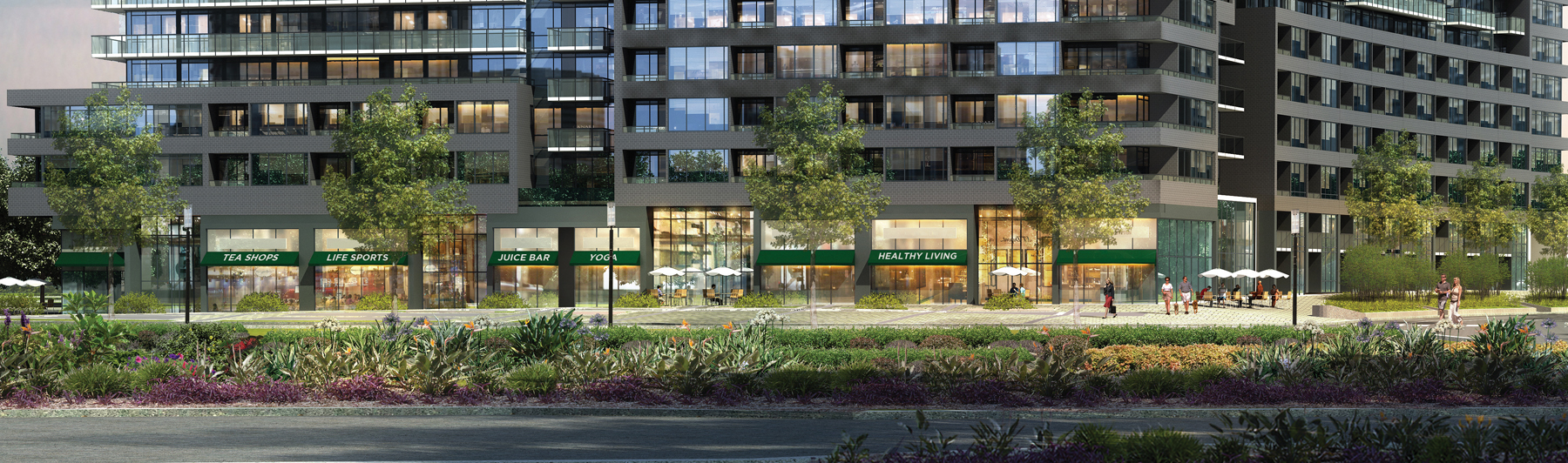 Canary District Retail Health and Wellness Focused Image
