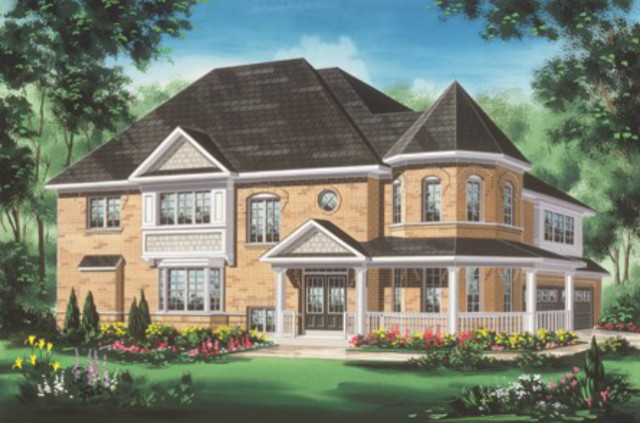 New detached homes at Blue Sky in Stouffville by Fieldgate Homes