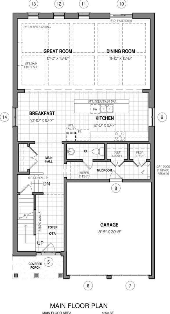 The Dawn A Floorplan 1
