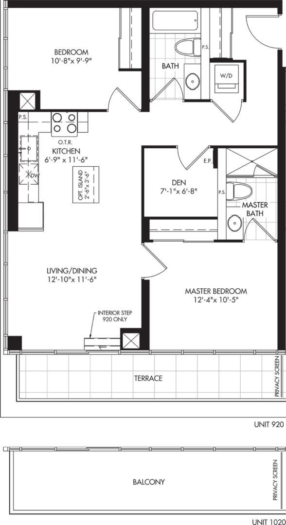 2D-B Floorplan 1