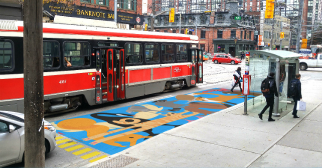 Streetcar Safety Murals may be coming to Toronto! Image