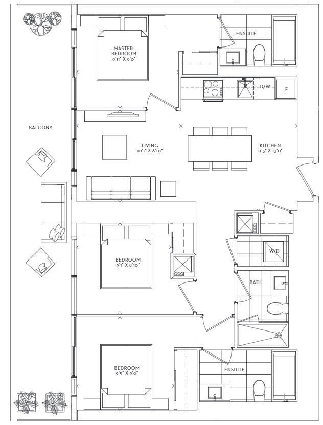Meander Floorplan 1