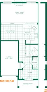 The Villa Floorplan 1