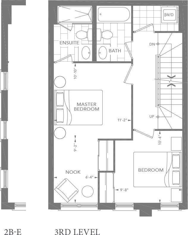 2B   2B-E Floorplan 3