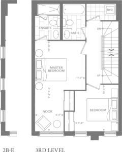2B | 2B-E Floorplan 3