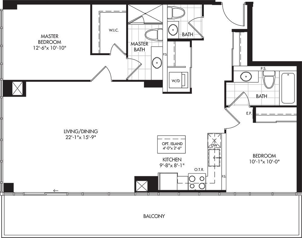 2-D2 Floorplan 1