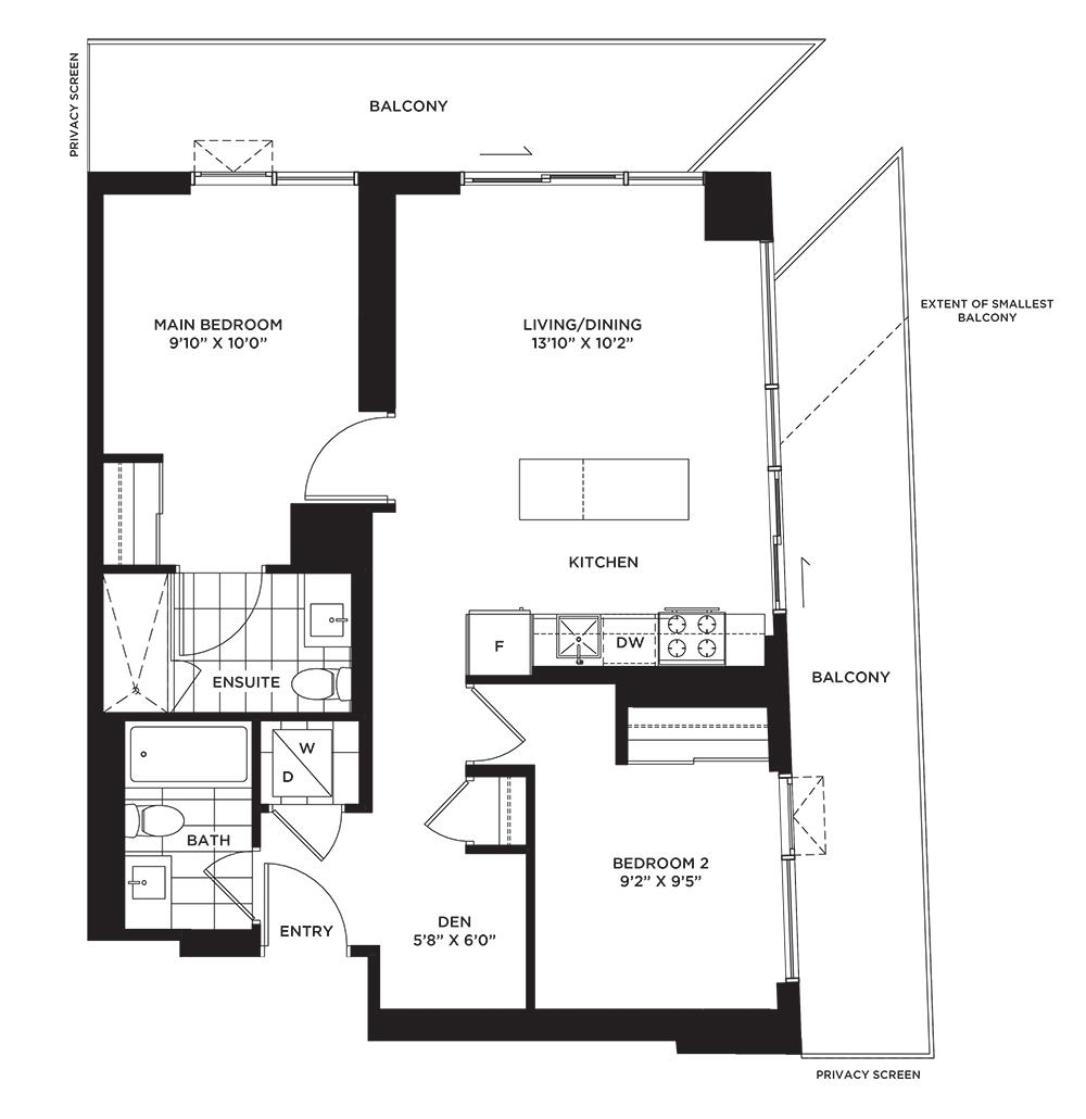 The Wildgrass Floorplan 1