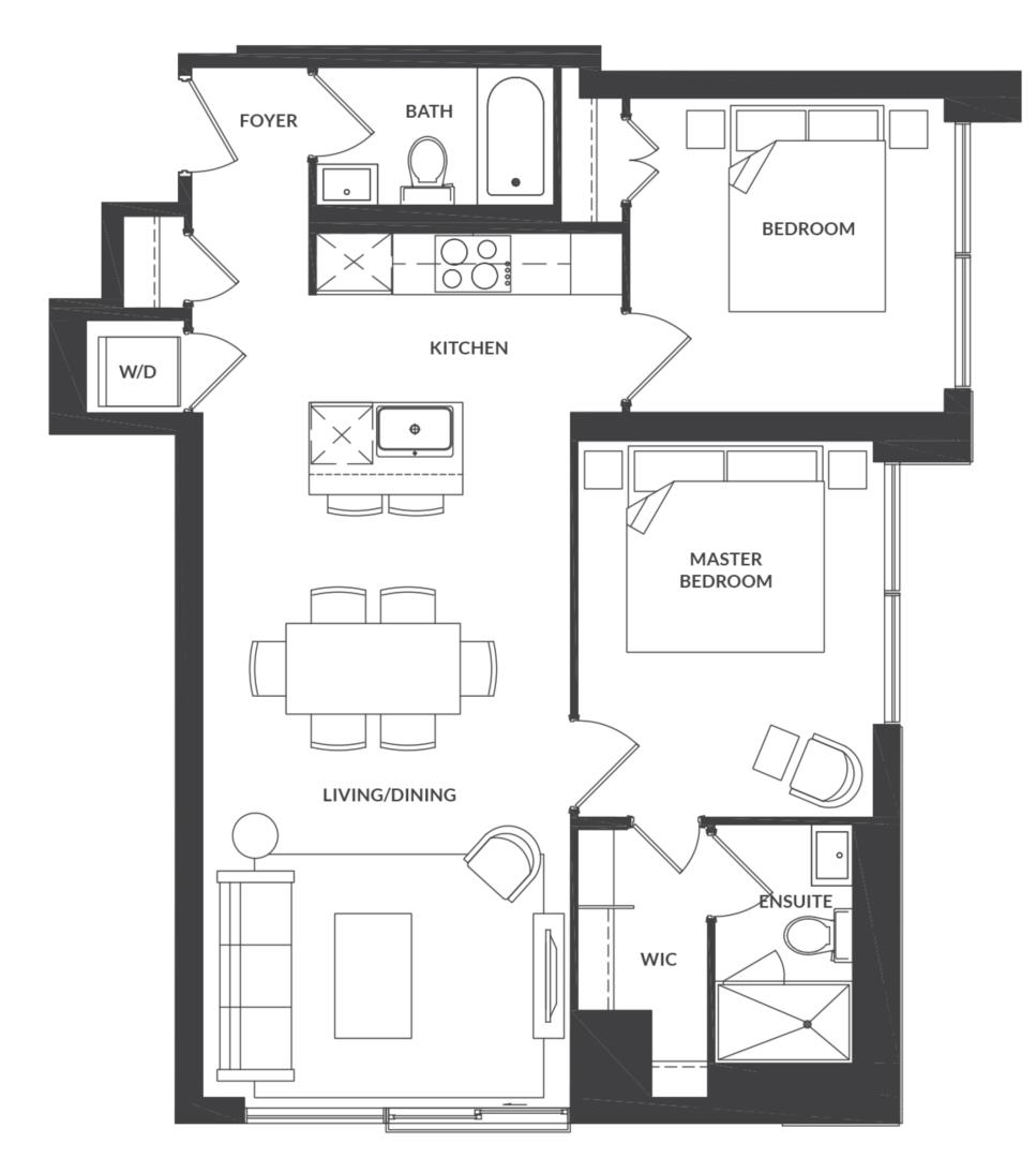 Suite 310/410 Floorplan 1