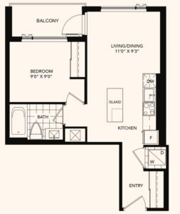 The Oakmount Floorplan 1