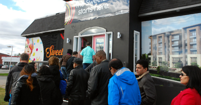 Hundreds attend the VIP opening of SweetLife Condos + Towns! Image