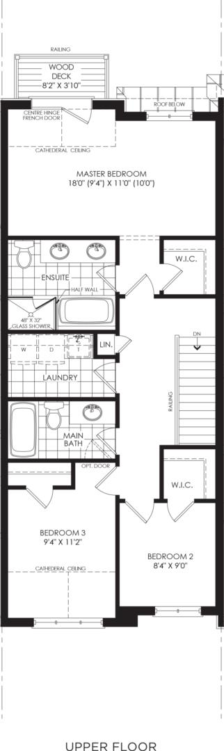 BLOCK 9, ELEV. B1 REV, UNIT 2 Floorplan 3