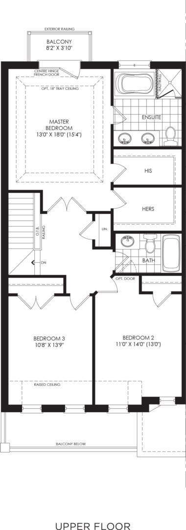 BLOCK 15, ELEV. A2, UNIT 1 Floorplan 3