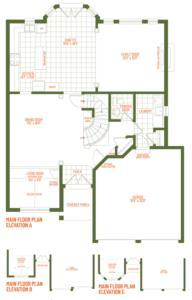The Heritage Floorplan 1