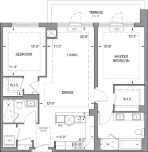 Building B - Penthouse Suites - 2G+T