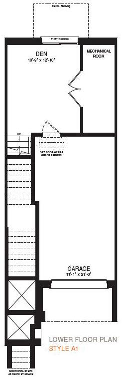 The Hampton Floorplan 1