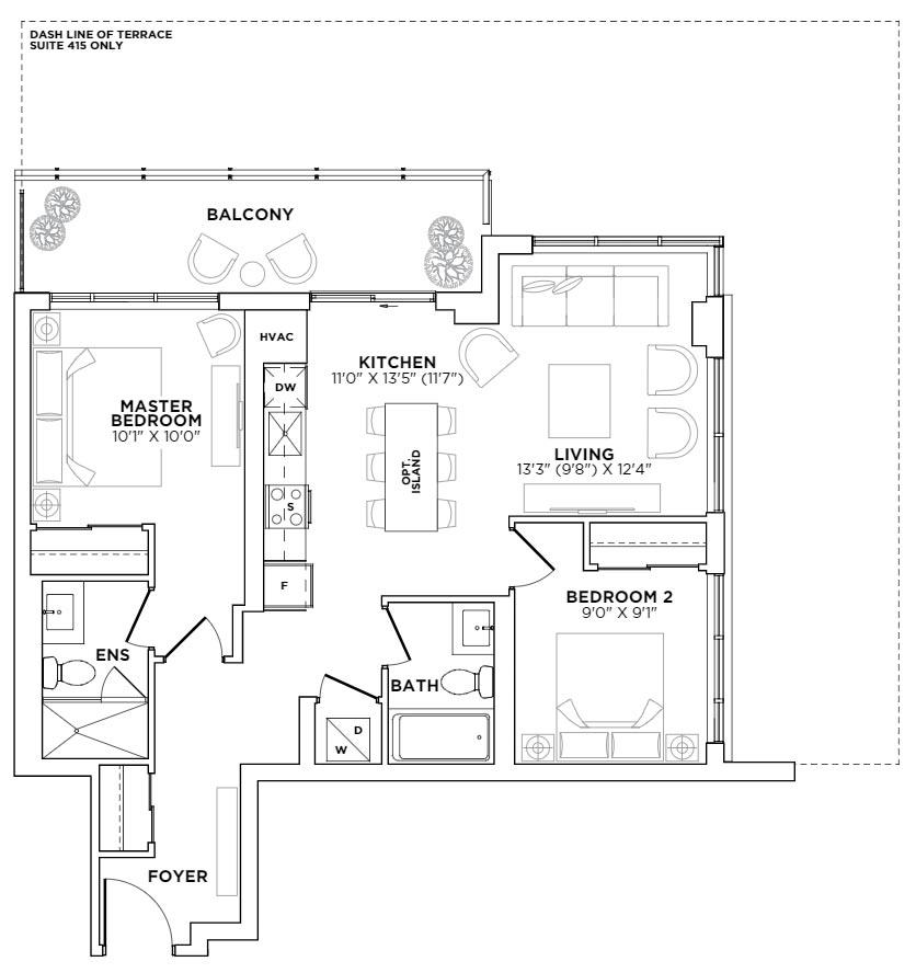 West Village Floorplan 1