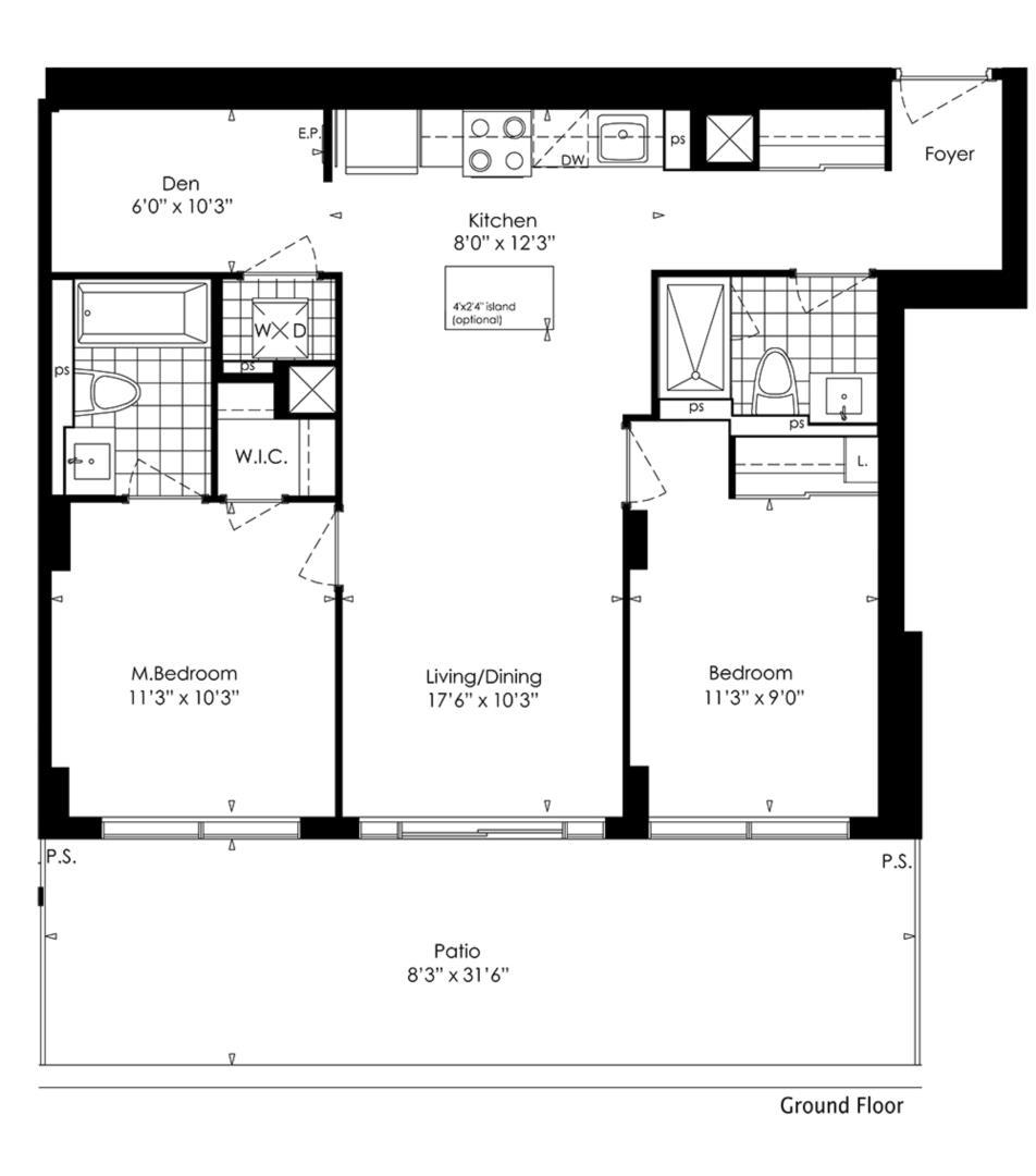 2D+D Floorplan 1