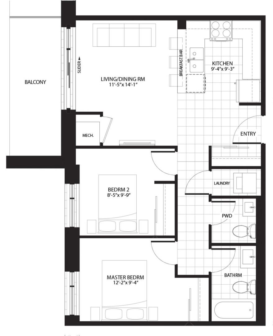 Ivy Walk Floorplan 1