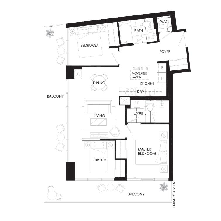 Gates 830B Floorplan 1