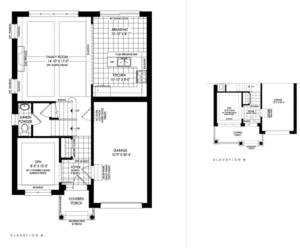 Clevedon Floorplan 1