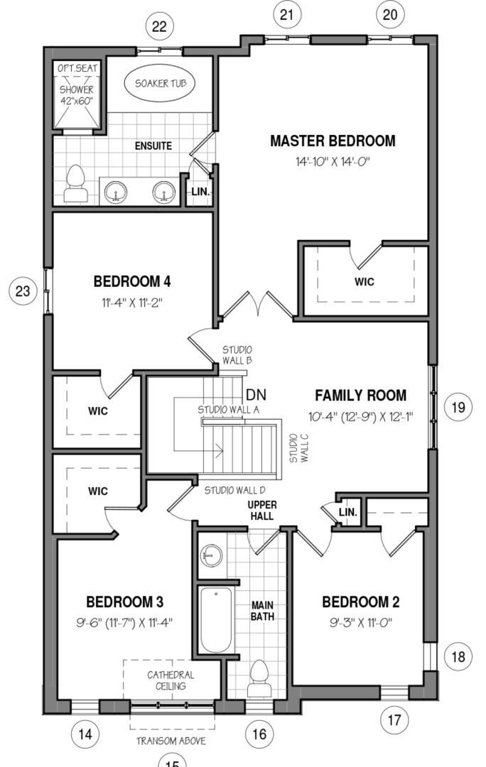 The Elmsgate IV B Floorplan 2