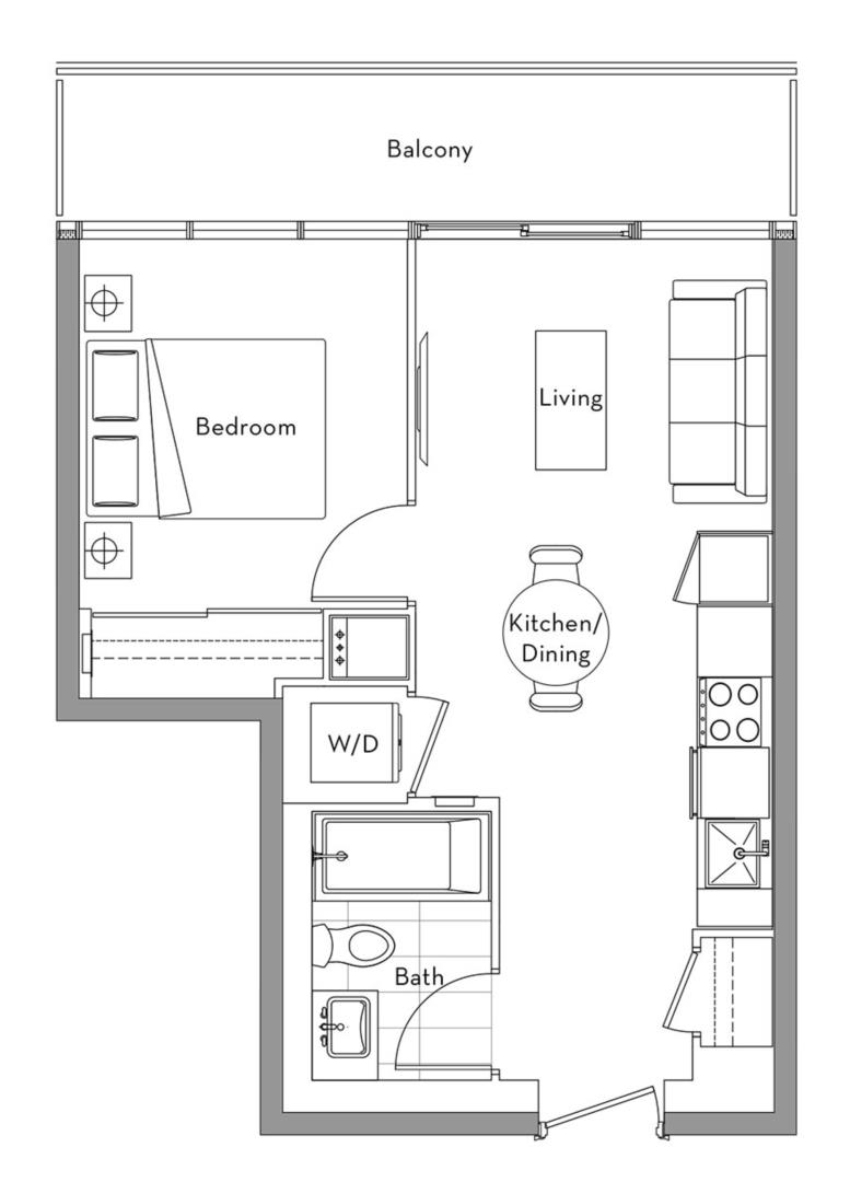 The Lakefront Collection - 007 Floorplan 1