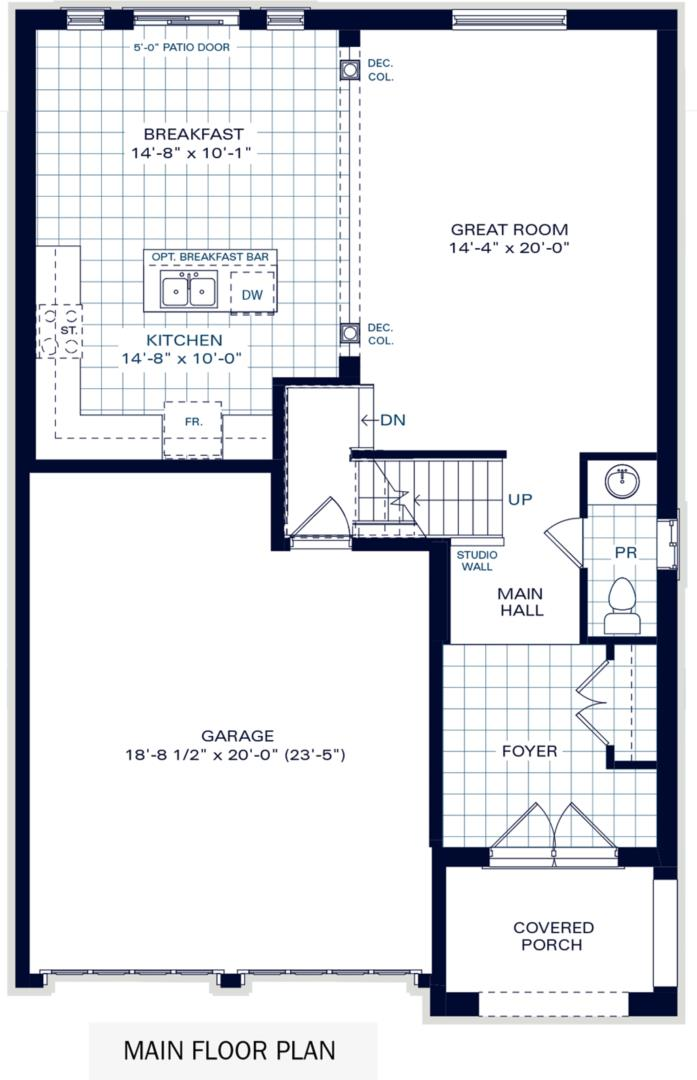 The Brighton II B Floorplan 1