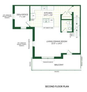 The Halloway B, Building G Floorplan 2