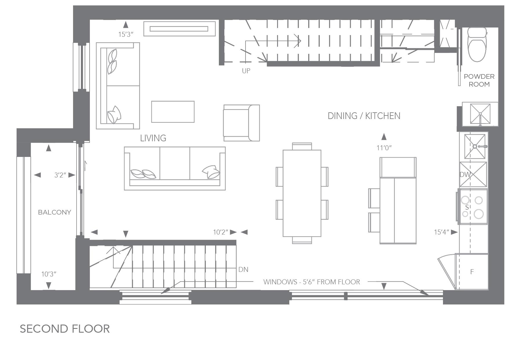 No. 1, 19 Floorplan 2