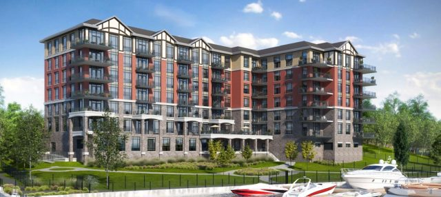 Stone & South Condos in Gananoque by CaraCo Development Corporation