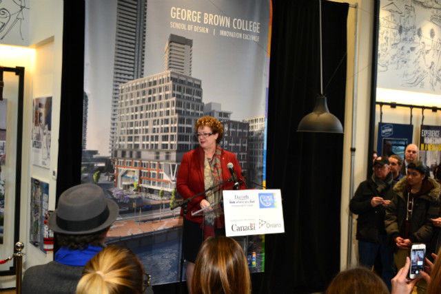 Anne Sado, George Brown College President
