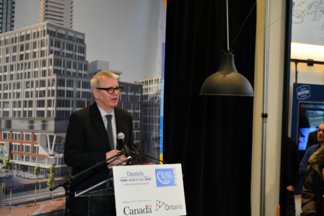 Adam Vaughan, Member of Parliament for Spadina-Fort York
