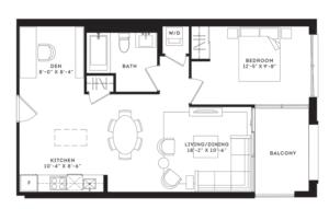 The Irving Floorplan 1