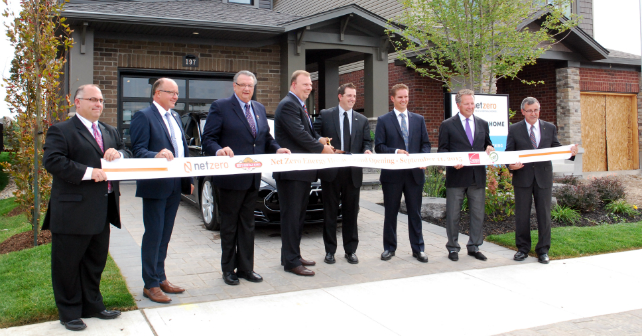 Reid's Heritage Homes is the first to complete a Net Zero Energy home in Canada! Image