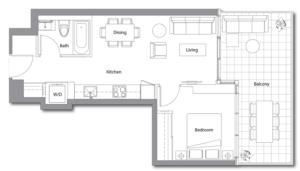 East Tower 11 Floorplan 1