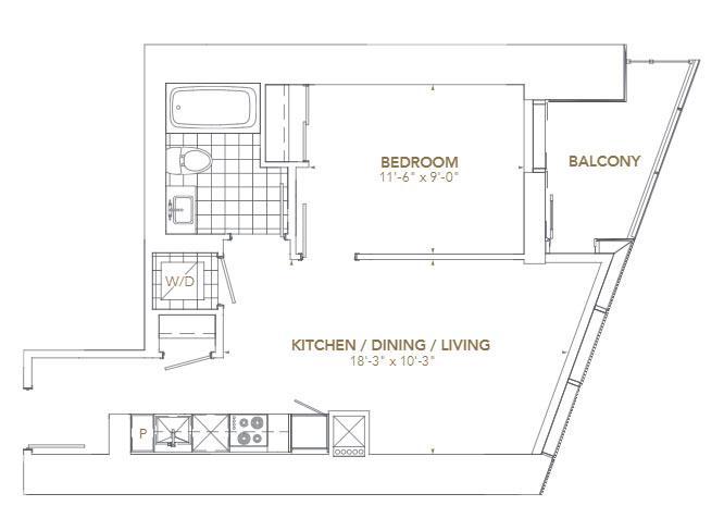 Residence 01 Floorplan 1