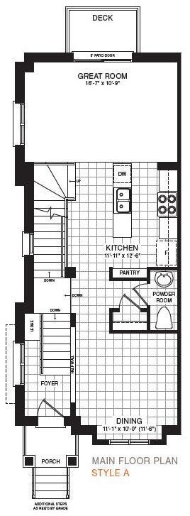 The Sherbrooke Corner Floorplan 2