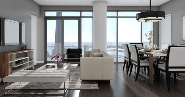 Your chance to live atop it all at 87 Peter in Toronto Image