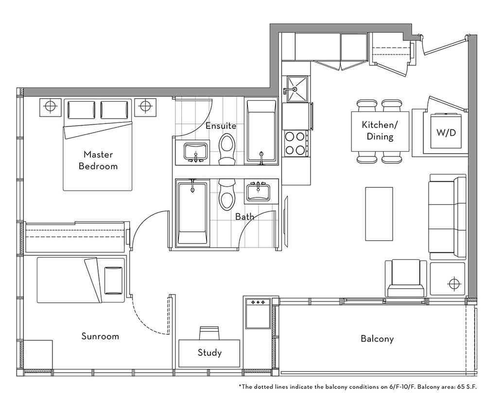 The Lakefront Collection - 002 Floorplan 1