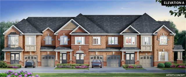 Glenway in Newmarket by Andrin Homes