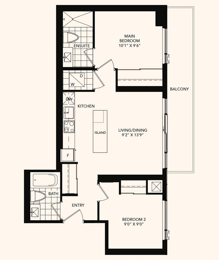 The Highcliffe Floorplan 1