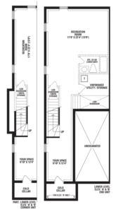 Turquoise End Unit Floorplan 4