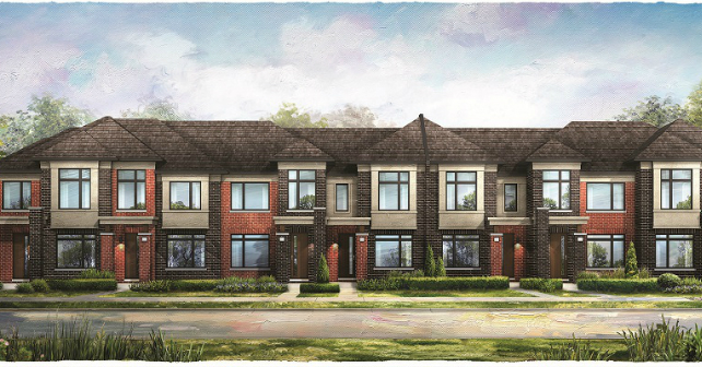 New homes in Brampton at The Neighbourhoods of Mount Pleasant! Image