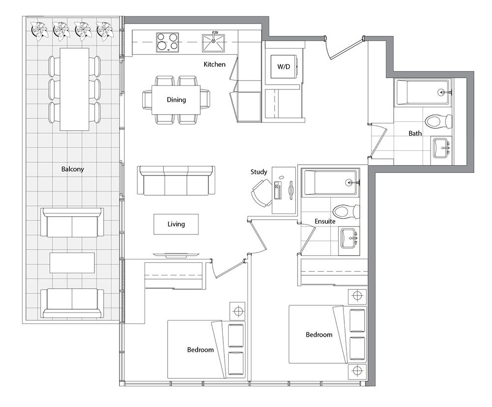 Upper (East Tower) 07 Floorplan 1