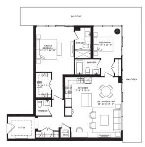 The Jane Floorplan 1