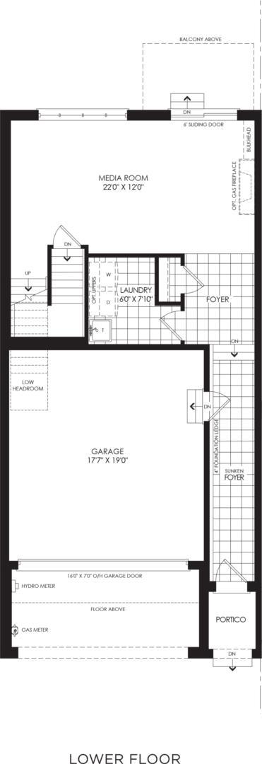 BLOCK 15, ELEV. A2, UNIT 1 Floorplan 1