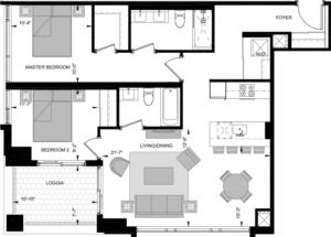 LW-W Floorplan 1