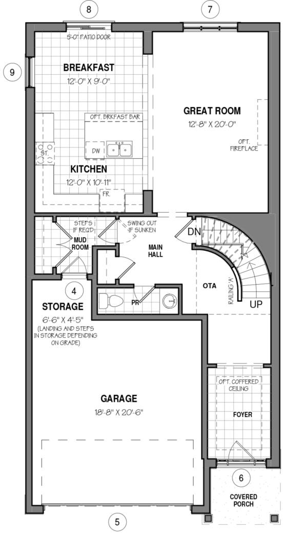 The Brockton 34 IV B Floorplan 1